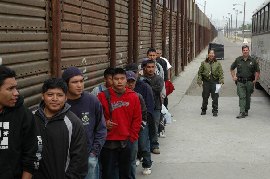 grens VS-Mexico
