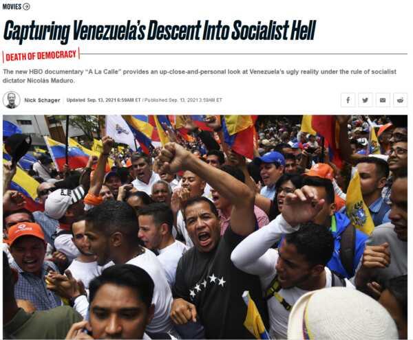 Daily Beast: Venezuela's afdaling naar de socialistische hel vastgelegd